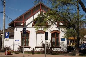 Pierwszy dworzec kolejowy w Milanówku