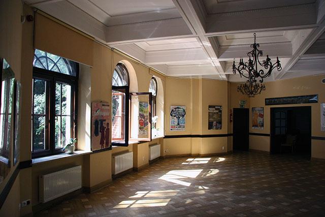 Pałacyk Kasyno - wystawa plakatu