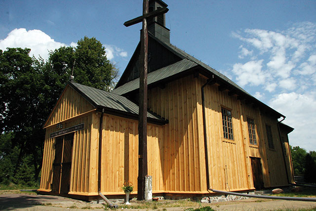 Kościół w Żukowie, XVII wiek