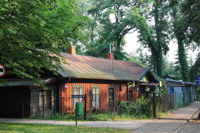 """""""Zabyteki"""" - najstarszy dom w Podkowie"""